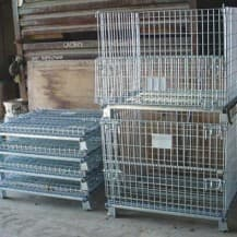 Folding Wire Baskets