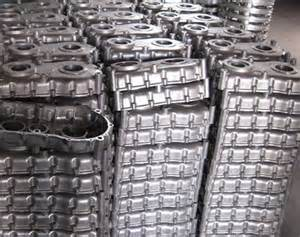 Aluminum-Castings-in-wire-containers-1