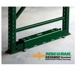Ridg-U-Rak Seismic Base Isolation System For Pallet Rack