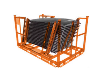 Roof Panel Headliner Returnable Shipping Rack Feature Pic