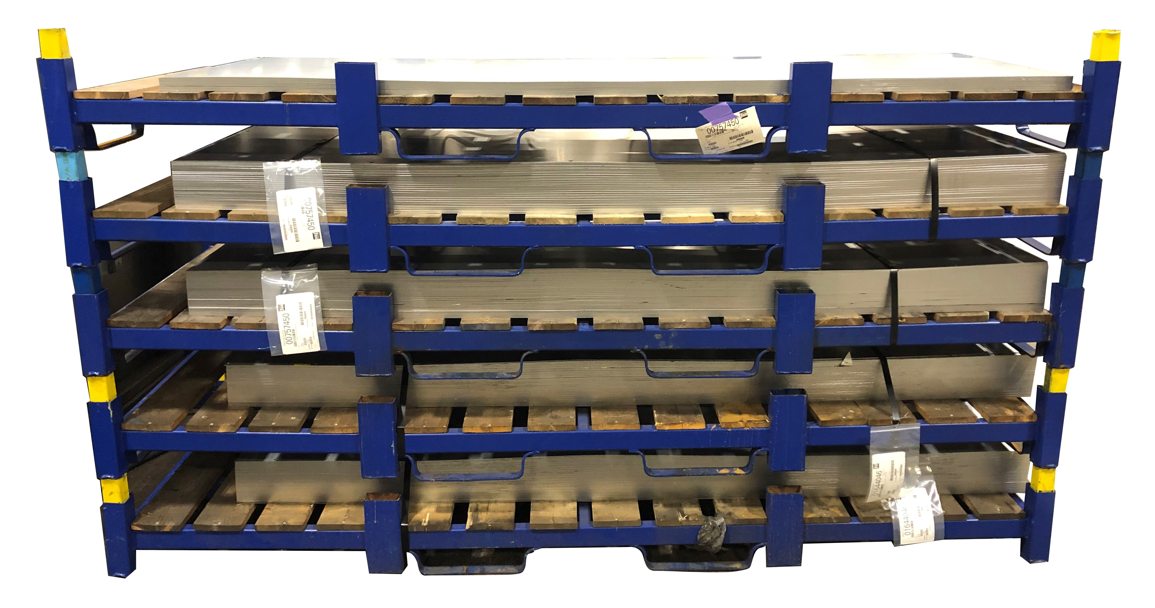 Stackable Steel Pallet for Sheet Storage Replace Costly ...