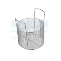 marlin rounded material handling basket with handles